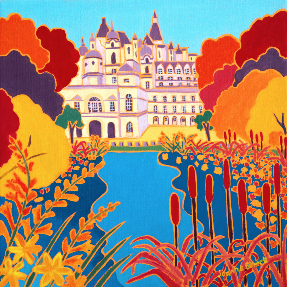Original Painting by Joanne Short. Autumn Colours, St James's Park, London
