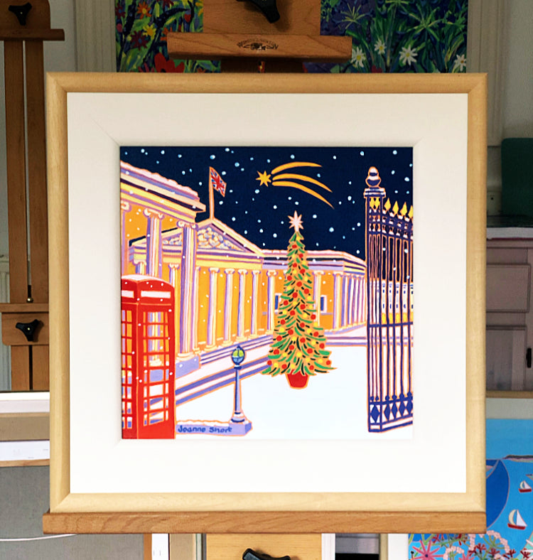 Original Painting by Joanne Short. Shooting Star, British Museum, London
