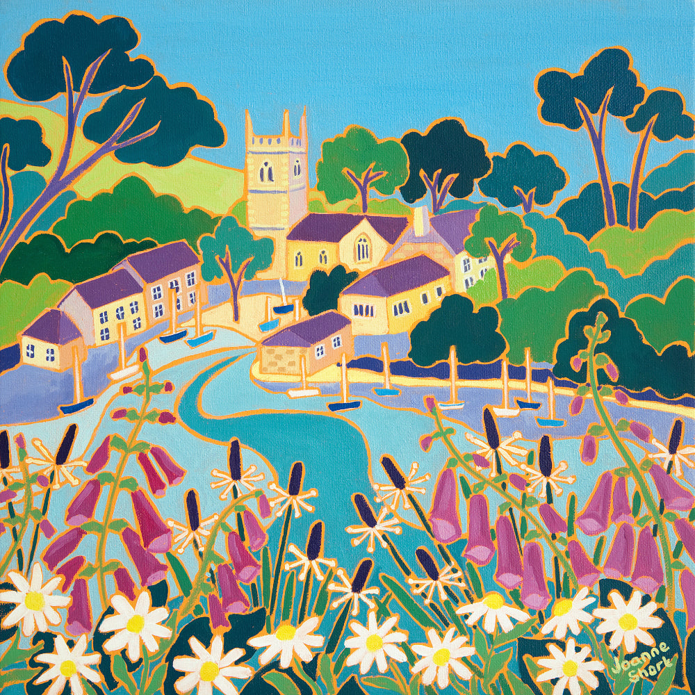 Joanne Short Painting. Floating on a Rising Tide, St Anthony-in-Meneage
