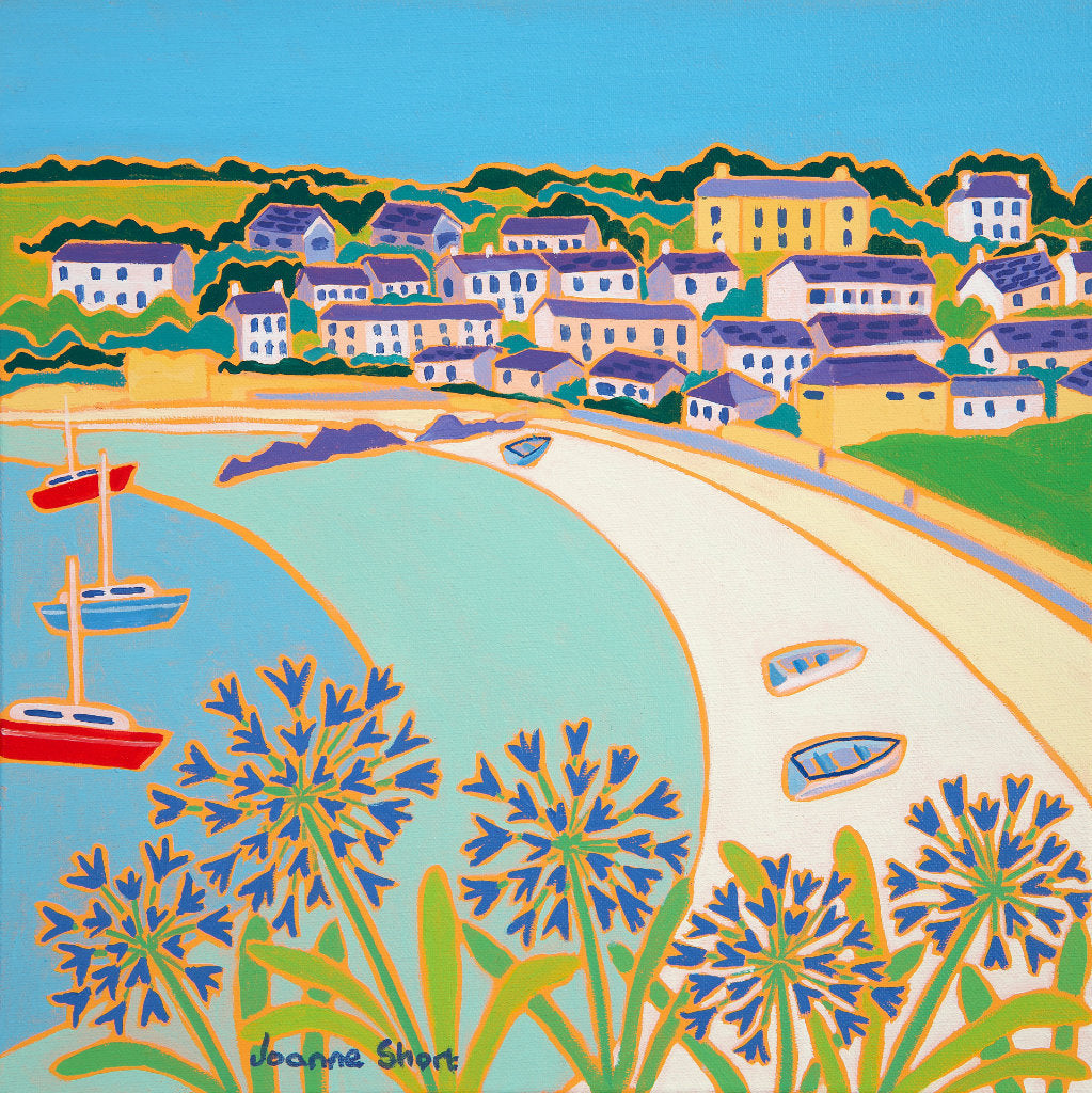 Limited Edition Print by Joanne Short. Porthcressa Beach, St Mary's