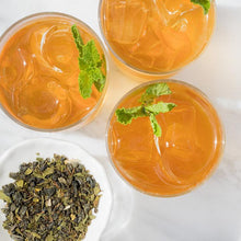 Load image into Gallery viewer, MEDITERRANEAN MINT ICED TEA GREEN ICED TEA