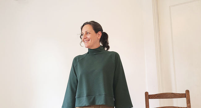 The Cosmos Sweatshirt Sew-Along - Version #1