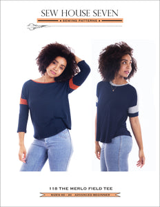 Introducing The Merlo Field Tee PDF Pattern!