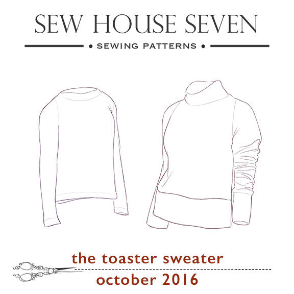 Toaster Sweater Sew-Along: Supplies