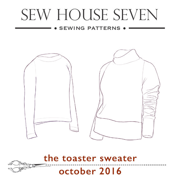 Toaster Sweater Sew Along Supplies Sew House Seven