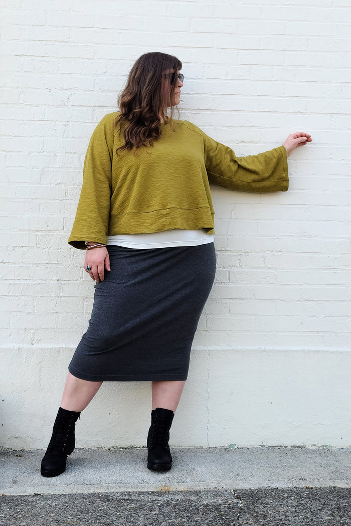 The Elemental Pencil Skirt - (FREE PDF Sewing Pattern)