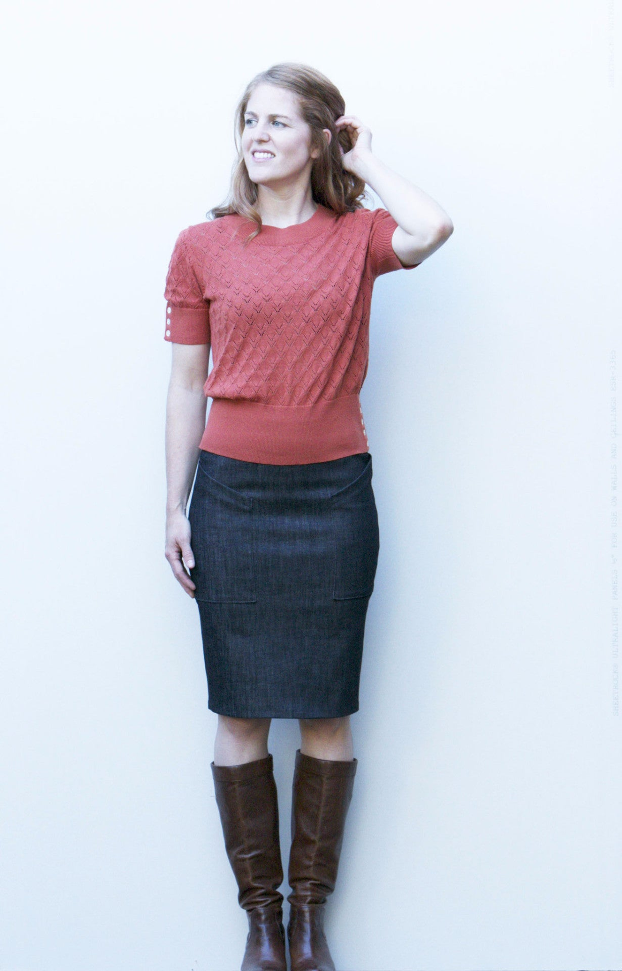 The Alberta Street Pencil Skirt Sewing Pattern – Sew House Seven