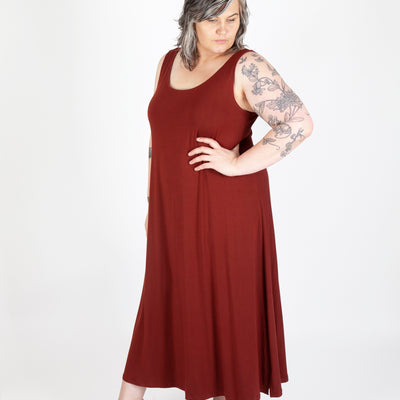 The Underwood Tank Top & Dress CURVY FIT (PDF Pattern)