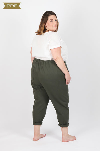 Free Range Slacks CURVY FIT (PDF Pattern)