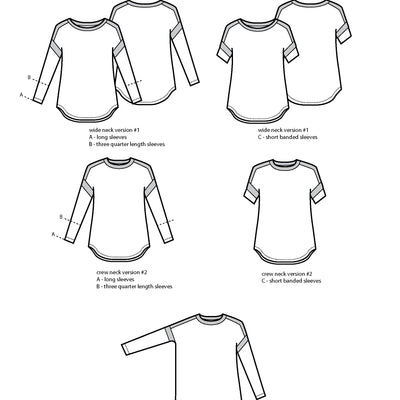 The Merlo Field Tee (PDF Pattern)