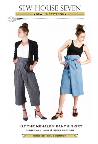 The Nehalem Pant And Skirt  (Paper Pattern)