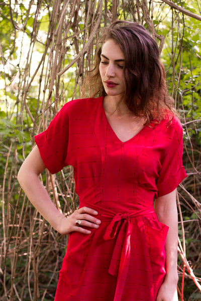 The Tea House Top And Dress Pattern (pdf Pattern)