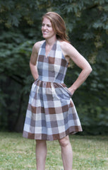 The Rose City Halter Dress Sewing Pattern
