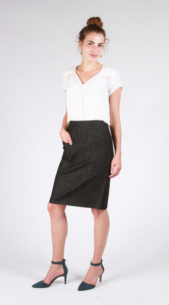 The Alberta Street Pencil Skirt Sewing Pattern (Paper Pattern)