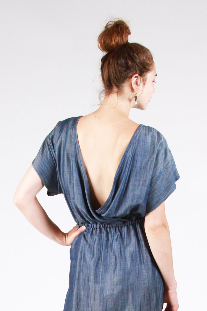 The Bridgetown Backless Dress & Tunic Pattern (PDF Pattern)