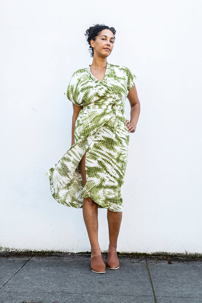 Wildwood Wrap Dress (Paper Pattern)