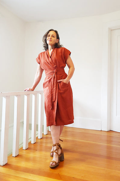 Wildwood Wrap Dress (PDF Pattern)