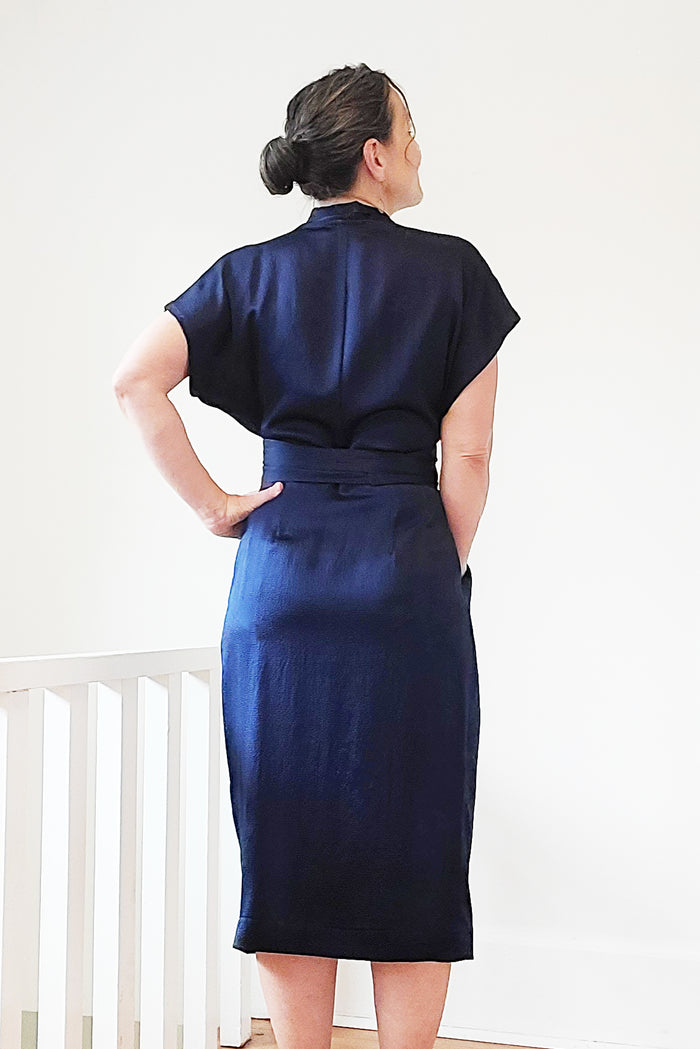Wildwood Wrap Dress CURVY FIT (PDF Pattern)
