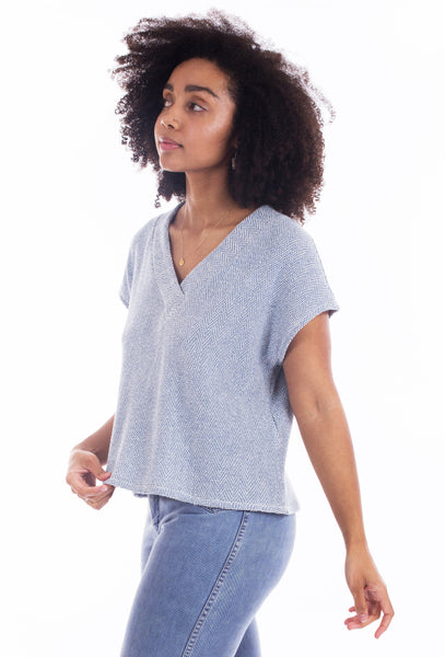 The Tabor V-Neck Sewing Pattern      (Paper Pattern)