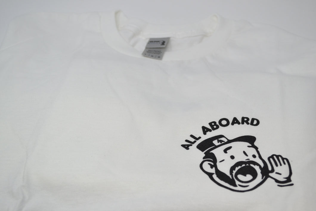 All Aboard T-Shirt White