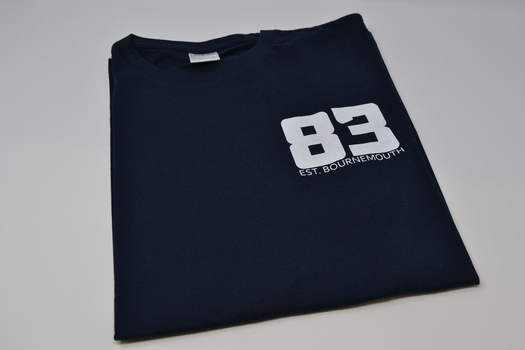 Jeves83 'Olde' T-shirt - Navy