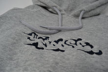 Load image into Gallery viewer, Moose Raglan Pullover Hoodie - Grey