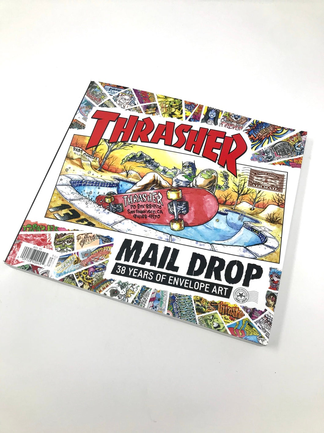 Thrasher 'Mail Drop' Coffee Table Book