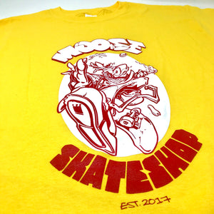Moose Skateshop T-Shirt - Yellow