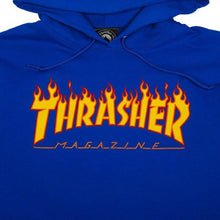 Load image into Gallery viewer, Thrasher Flame Logo Hoodie - Royal