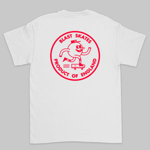 Blast 'Round Logo' Tee - LTD ED Red