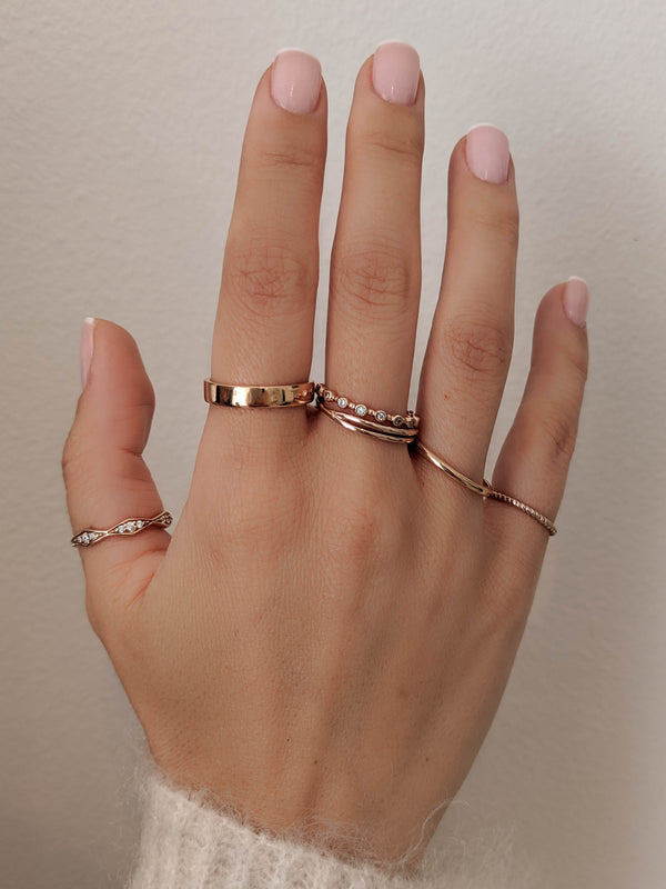 How We Wear It: Ring Stacks