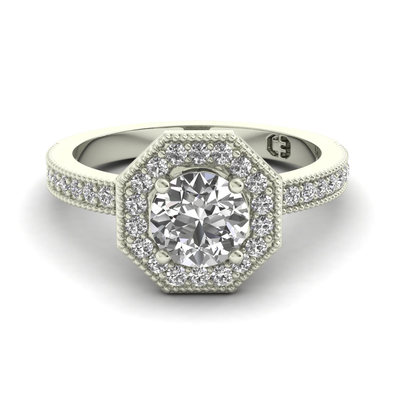 By Night Engagement Ring