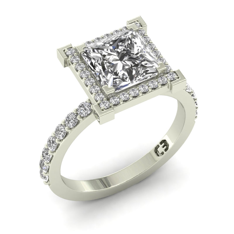 Cubana Princess Engagement Ring