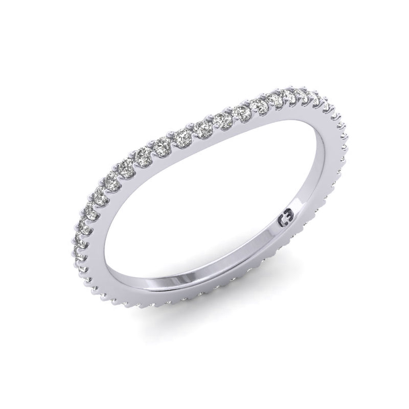 Cuban Empress Eternity Ring