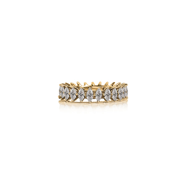 Cinta Marquise Eternity Ring
