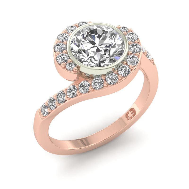 Delicate Passion Engagement Ring