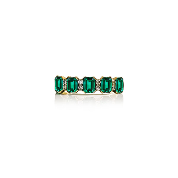 Forever Eternity Emerald Ring