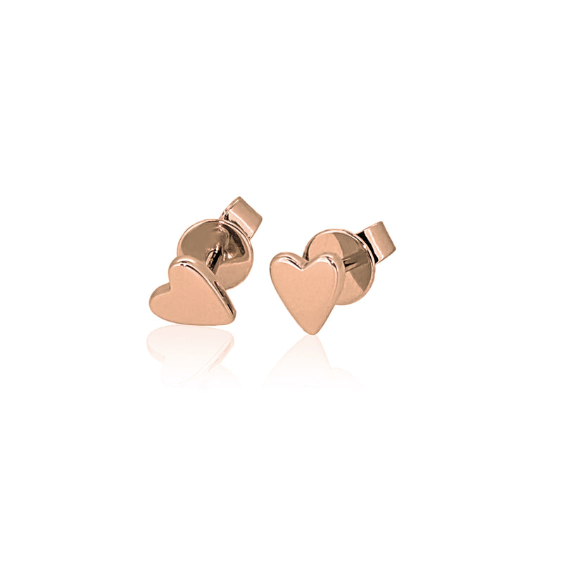 Gold Sweet Heart Studs