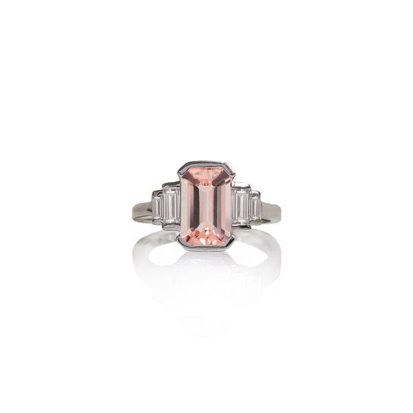 Indulgence Morganite Ring
