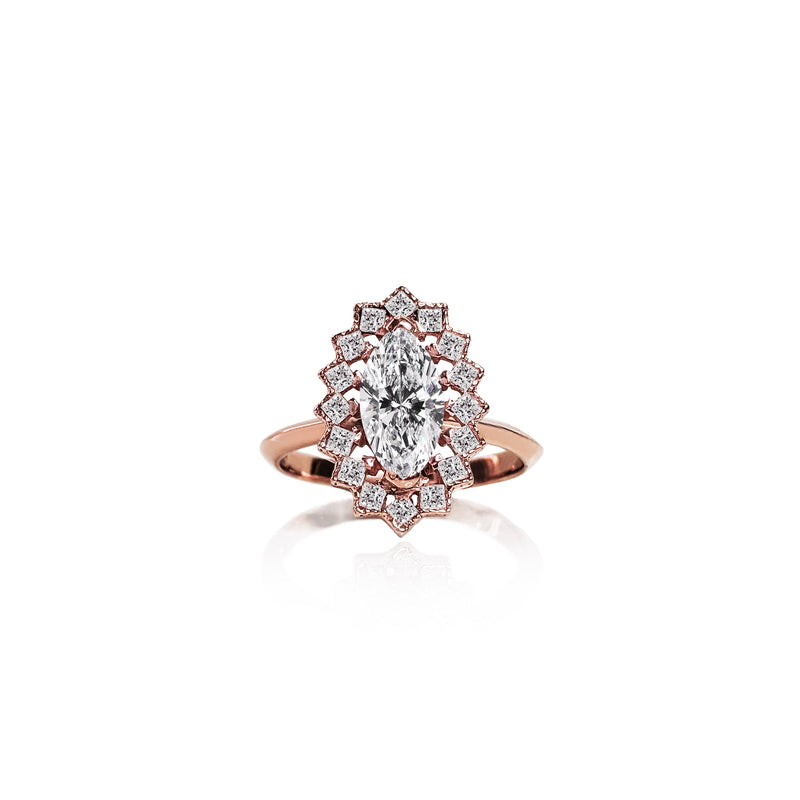 Marquise Marvel Ring