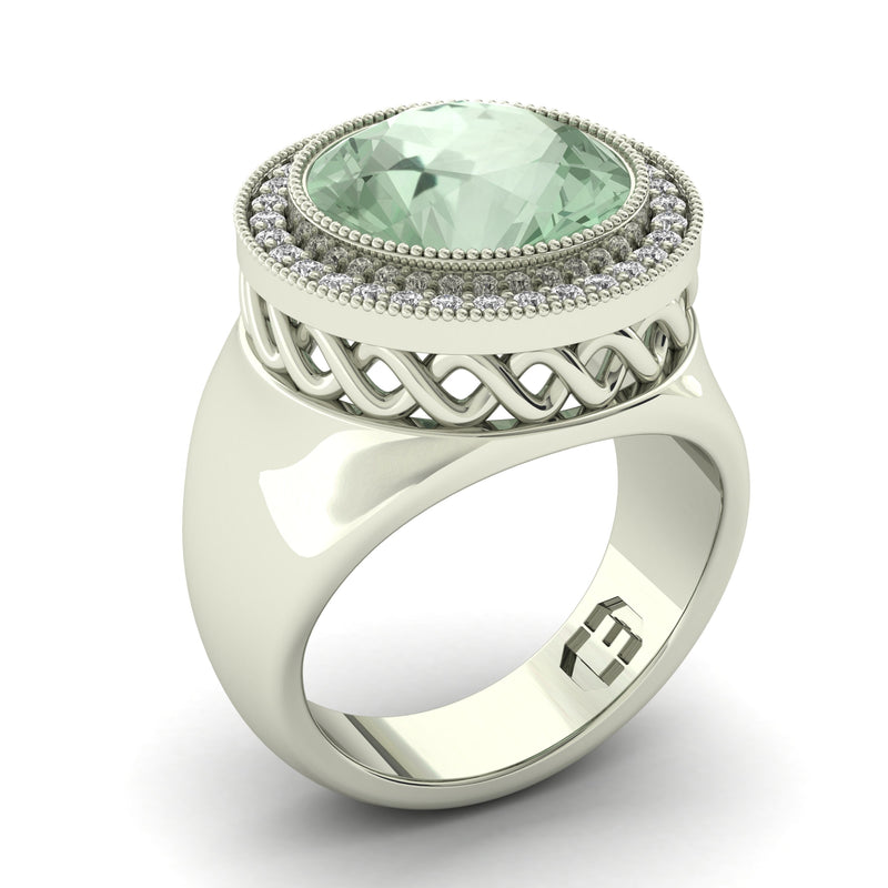 Mint Night Ring