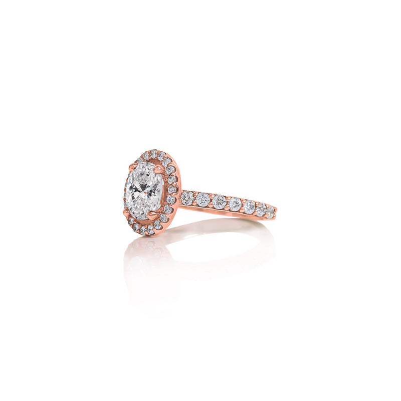 Oval Delight Engagement Ring
