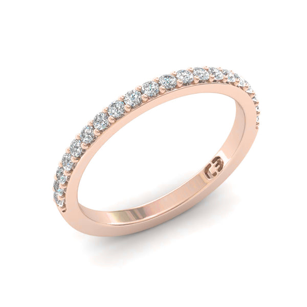 Shared Claw 1.5pt Eternity Ring