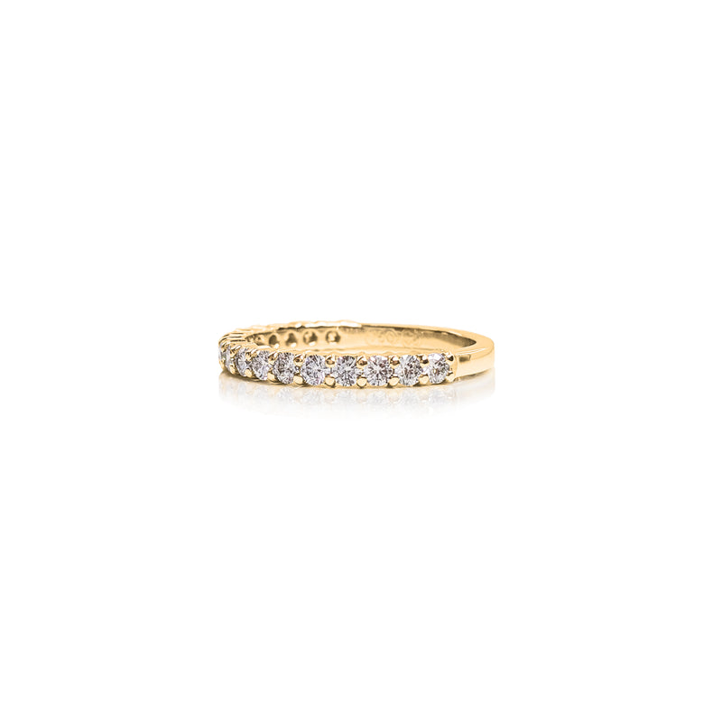 Shared Claw 2pt Eternity Ring