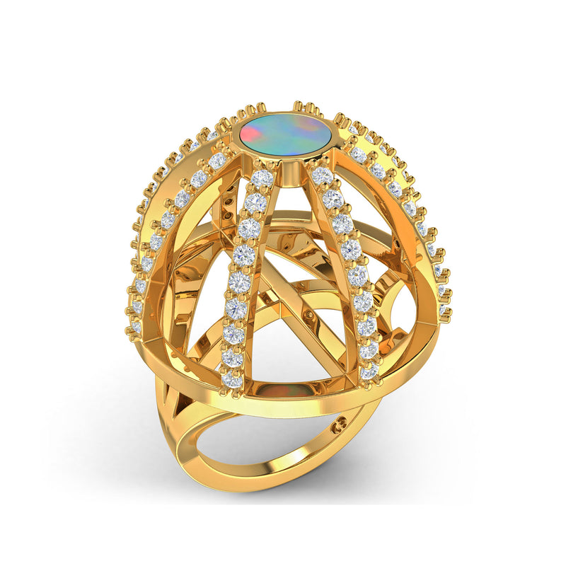 Water Dreaming Ring