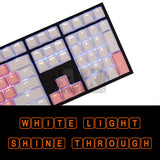 PBT OEM Dye Sublimation Legends Keycaps - Cardioid