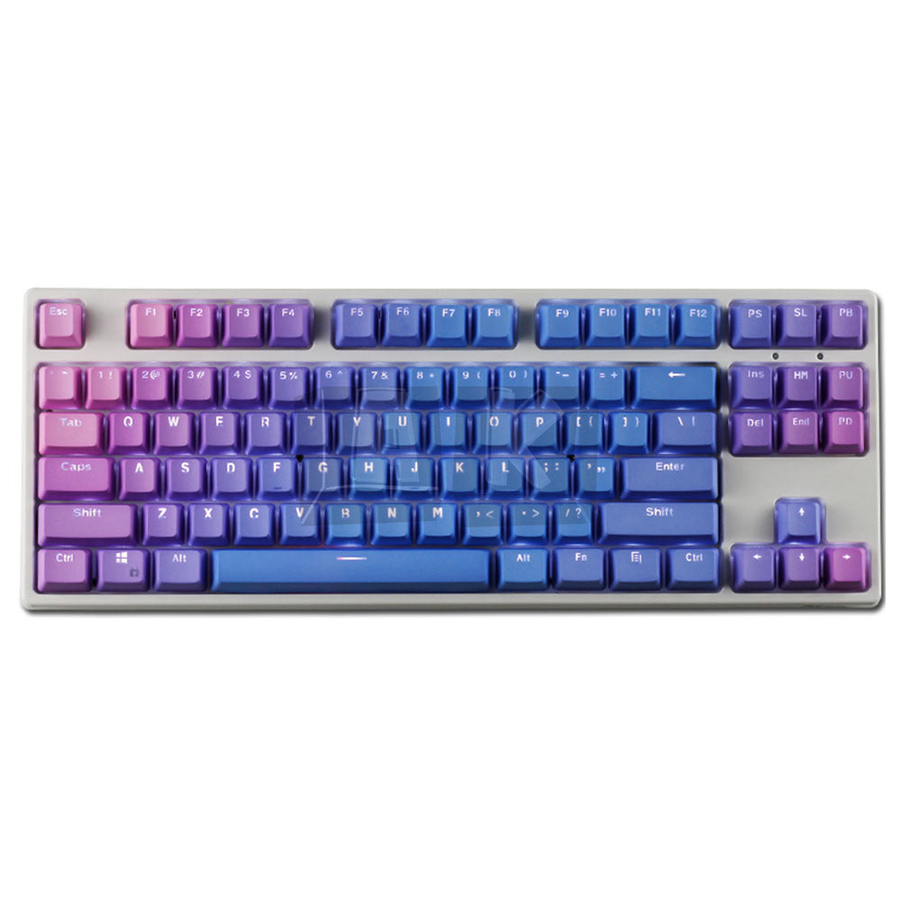 PBT OEM Dye Sublimation Legends Keycaps - Nightfall