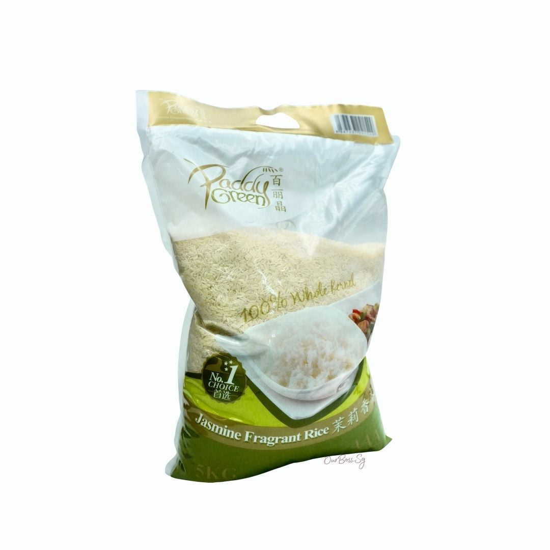 Paddy Green Jasmine Fragrant Rice