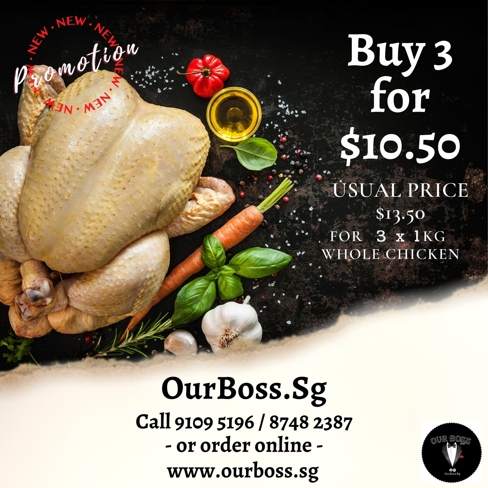 Whole Chicken Promo
