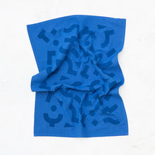 Load image into Gallery viewer, Blocks Kitchen Towel - Cobalt
